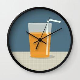 Juice Wall Clock
