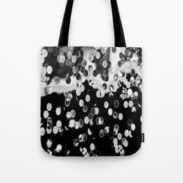 Abstract Photoart Points Tote Bag