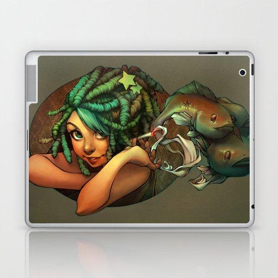 Smoking Fish Laptop & iPad Skin