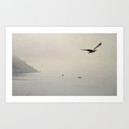 sea - inner peace Art Print