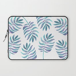 Wild, Barefoot & Free - Palm Leaf Quote Laptop Sleeve