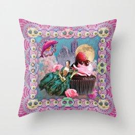 magical crystal dreamland  Throw Pillow