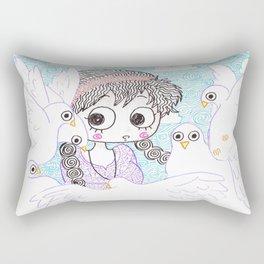 laputa howl moving castle Rectangular Pillow
