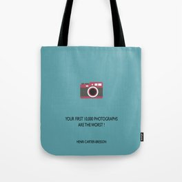 10,000 Photographs Tote Bag