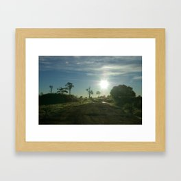 Oz Framed Art Print