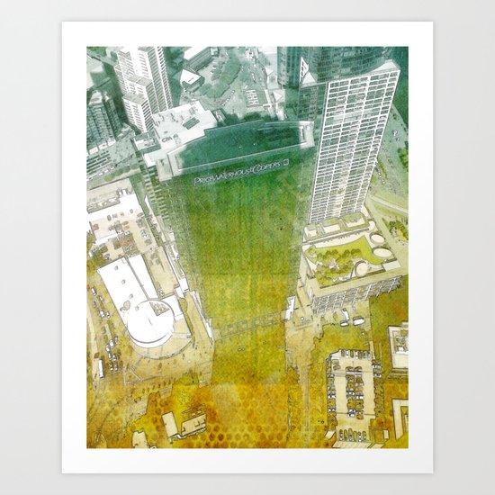 view from Eureka Art Print