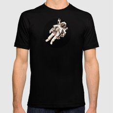 Astronaut MEDIUM Mens Fitted Tee Black
