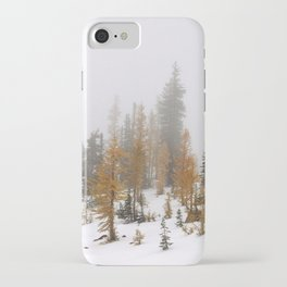 Larch Trees iPhone Case