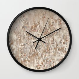 African American Masterpiece 'Untitled' by Norman Lewis Wall Clock