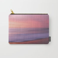Soft Blushing Sky Carry-All Pouch