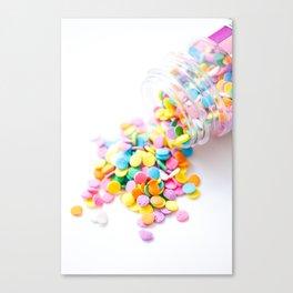 Confetti Sprinkles Canvas Print