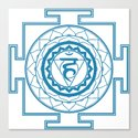 Sri Yantra Throat Chakra by iamcosmosis
