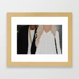 King & King Framed Art Print