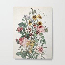 Romantic Garden Metal Print