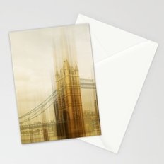 a break in the quiet Stationery Cards
