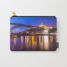 Porto at night Portugal Carry-All Pouch