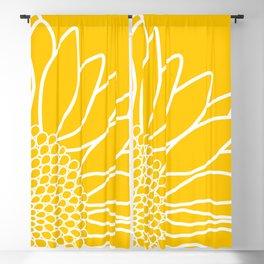 Sunflower Cheerfulness Blackout Curtain