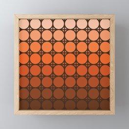 Desert Dusk Connections Framed Mini Art Print
