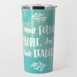 Follow the People Travel Mug