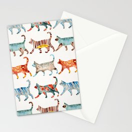 Cat Collection: Watercolor Stationery Cards
