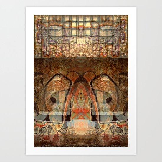Ancient God I Art Print