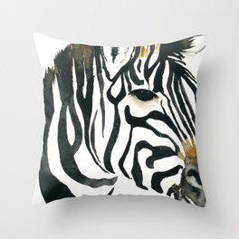 zebra my love throw pillow