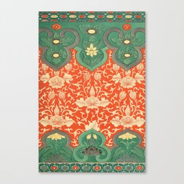 Examples of Chinese Ornament XCIV Canvas Print