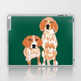 Gracie and George Laptop & iPad Skin