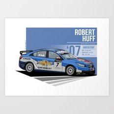 Robert Huff - 2007 Anderstorp Art Print