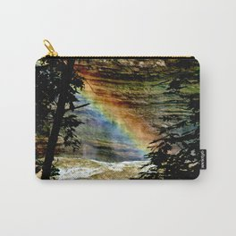 Rainbows on the Rocks Carry-All Pouch