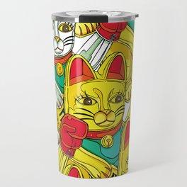 ARMY OF BOXING CATS Travel Mug
