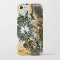 castlevania iPhone & iPod Cases featuring The Battlefield by Fresh Doodle - JP Valderrama