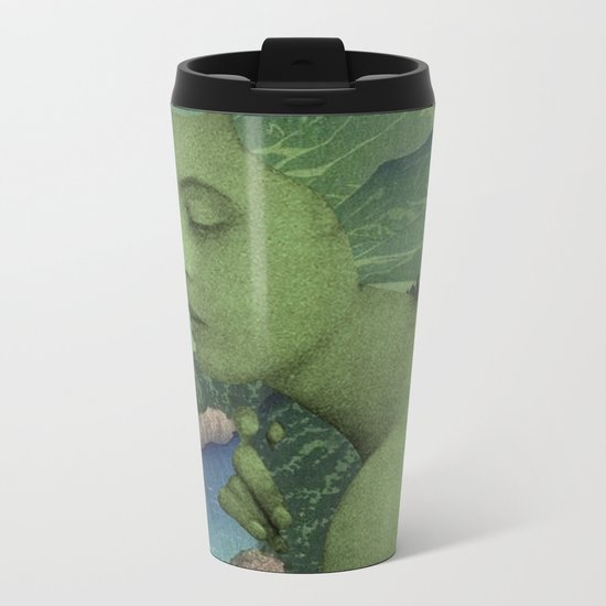 GREEN JEAN Metal Travel Mug