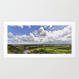 Manning Valley River Art Print