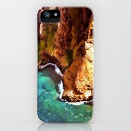 Tropical Coastline Hawaii of the Isolated Napali Coast iPhone Case