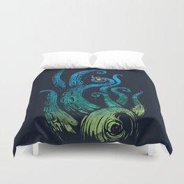 Undersea attack (neon ver.) Duvet Cover