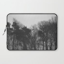 Trees in black and white vintage Laptop Sleeve