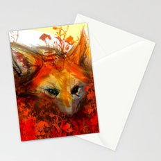 Fox in Sunset III Stationery Cards