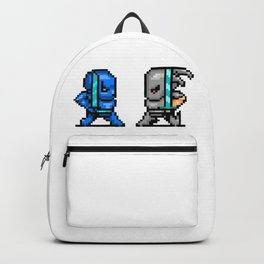 8bit Samurai Ninja Swordfighters Backpack