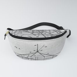 1903 Flying machine Fanny Pack