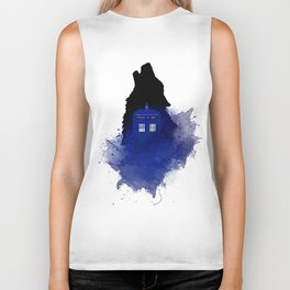 Dr.Who, Art, Design, Dr. Who Art, BadWolf, Bad Wolf Biker Tank