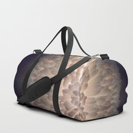 Soft light through the feathers Duffle Bag