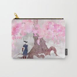 Tengami - Winter Cherry Tree (Portrait) Carry-All Pouch