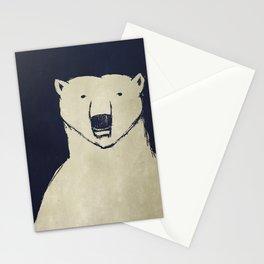 Polar Bear - Stars Up Above Stationery Cards
