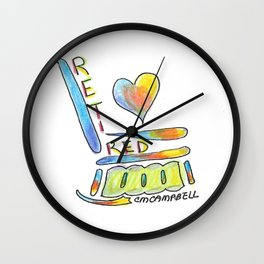 """Retired"" Wall Clock"
