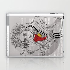 Beethoven in musica Laptop & iPad Skin