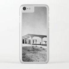 Orange County Airport 1967 Clear iPhone Case
