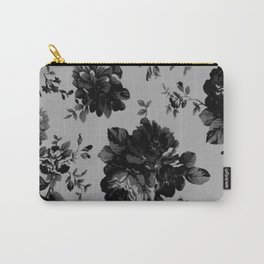 Gothic Floral Carry-All Pouch