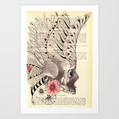 Day of the Dead - She Art Print