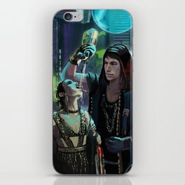 Partying in Coruscant iPhone Skin